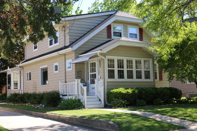Cedarburg Single Family Home Active Contingent With Offer: N49w6773 Western Ave