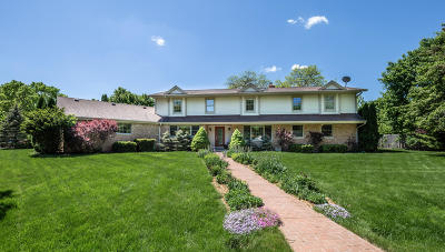 Milwaukee County Single Family Home For Sale: 7919 N Lake Dr