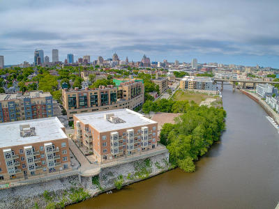 Milwaukee County Condo/Townhouse Active Contingent With Offer: 1905 N Water St #205
