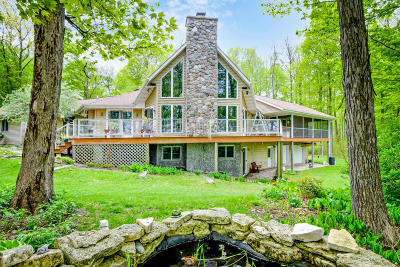 Campbellsport Single Family Home For Sale: N1273 Double D Rd