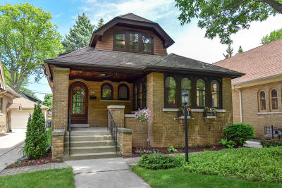 Shorewood Single Family Home Active Contingent With Offer: 4238 N Woodburn St