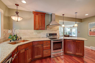 Milwaukee County Single Family Home Active Contingent With Offer: 6906 N Belmont Ln