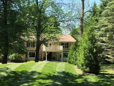 Ozaukee County Single Family Home Active Contingent With Offer: N110w5390 Highland Dr