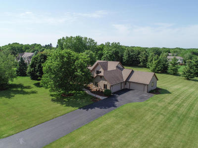 Delafield Single Family Home For Sale: 829 Woodland Park Dr