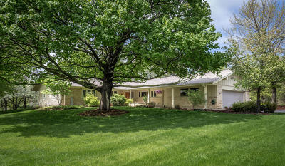 Mequon Single Family Home Active Contingent With Offer: 2750 W County Line Rd