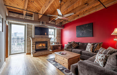 Milwaukee Condo/Townhouse Active Contingent With Offer: 413 N 2nd #690