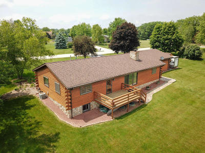 Racine County Single Family Home Active Contingent With Offer: 4901 Riverside Rd