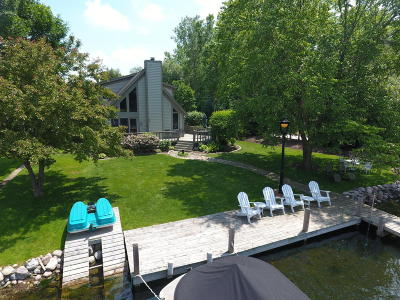 Pewaukee Single Family Home Active Contingent With Offer: W276n2822 Oak St