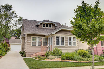 Wauwatosa Single Family Home Active Contingent With Offer: 2243 N 68th St