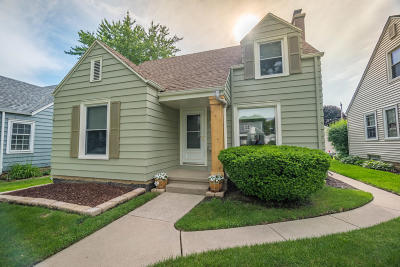 West Allis Single Family Home Active Contingent With Offer: 2422 S 61st St