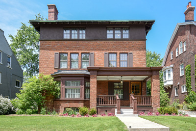 Milwaukee Single Family Home Active Contingent With Offer: 2245 N Lake Dr