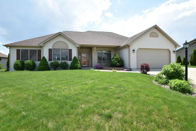 Racine County Single Family Home Active Contingent With Offer: 8341 Whitetail Dr