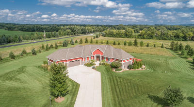 Waukesha County Single Family Home For Sale: 1180 Ravinia View Ln