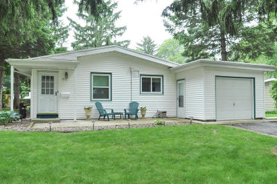 Single Family Home Active Contingent With Offer: 7317 Edgemont Ave