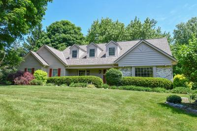 Pewaukee Single Family Home For Sale: N25w30776 Overlook Ct
