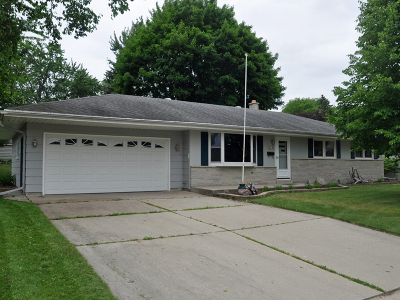 Washington County Single Family Home Active Contingent With Offer: 819 E Kilbourn Ave