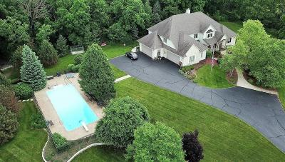 Waukesha County Single Family Home For Sale: N48w28950 County Rd Jk