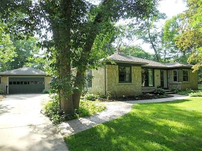 Wauwatosa Single Family Home For Sale: 1635 N 122nd St