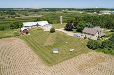 Mayville Single Family Home Active Contingent With Offer: W1757 State Rd 33