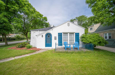 Wauwatosa Single Family Home For Sale: 205 Glenview Ave