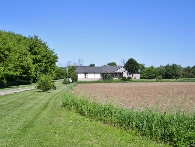 Jefferson County Single Family Home Active Contingent With Offer: N8696 Hustisford Road