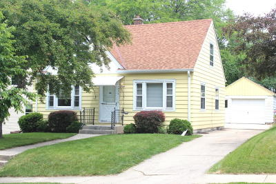 Wauwatosa Single Family Home Active Contingent With Offer: 7836 W Wright St