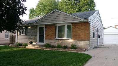 West Allis Single Family Home Active Contingent With Offer: 2484 S 88th St
