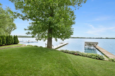 Hartford Single Family Home Active Contingent With Offer: 3472 Lake Dr