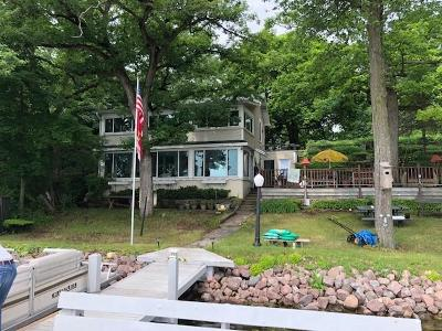 Eagle Single Family Home For Sale: W305s10489 Travers Island