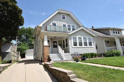 West Allis Two Family Home Active Contingent With Offer: 9018-9020 W Lapham St