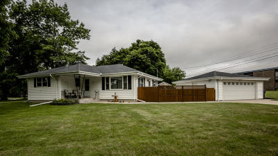 Hales Corners Single Family Home Active Contingent With Offer: 11612 W Woodside Dr