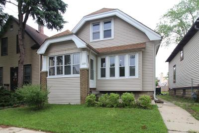West Allis Single Family Home Active Contingent With Offer: 1820 S 77th St