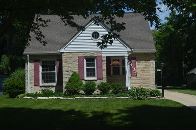 Milwaukee County Single Family Home For Sale: 7473 N Lombardy Rd