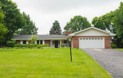 Waukesha County Single Family Home For Sale: 19445 Benington Dr