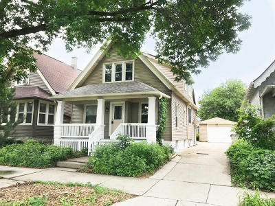 Milwaukee Two Family Home For Sale: 2706 S Burrell