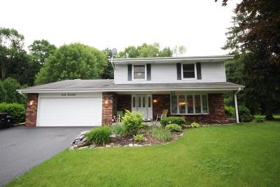 Menomonee Falls Single Family Home For Sale: N76w14691 North Point Dr