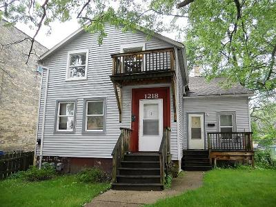 Racine County Multi Family Home For Sale: 1218 Villa St