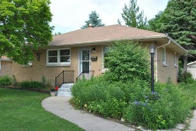 Milwaukee County Single Family Home For Sale: 3668 S 79th St