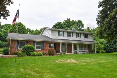 Waukesha County Single Family Home For Sale: N76w22276 Chestnut Hill Rd