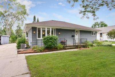 West Allis Single Family Home Active Contingent With Offer: 2887 S 96th St