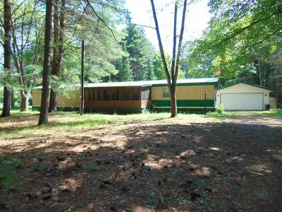 Single Family Home For Sale: 8704 N Maple Beach Rd