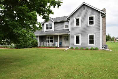 Hartland Single Family Home Active Contingent With Offer: 2015 Timber Oak Ct