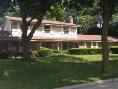 West Allis Single Family Home Active Contingent With Offer: 12255 W Holt Avenue