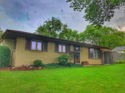 West Allis Single Family Home Active Contingent With Offer: 9526 W Arthur Ave.