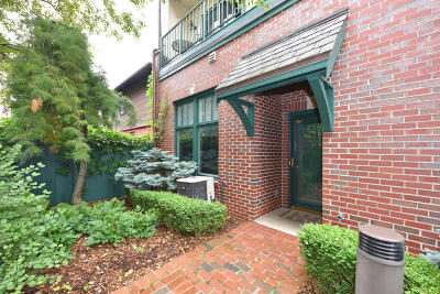 Milwaukee Condo/Townhouse Active Contingent With Offer: 2010 E Windsor Place #A