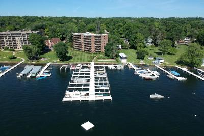Williams Bay Condo/Townhouse Active Contingent With Offer: 9 S Walworth Ave #602