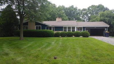 West Allis Single Family Home Active Contingent With Offer: 2533 S Root River Parkway