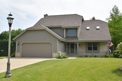 Menomonee Falls Single Family Home Active Contingent With Offer: W143n6478 Aspen Dr
