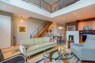 Milwaukee Condo/Townhouse Active Contingent With Offer: 1959 N Riverwalk Way