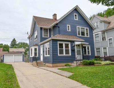 West Allis Two Family Home Active Contingent With Offer: 1519 S 80th St #1521